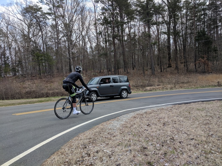Making the Passing a Bicyclist Video